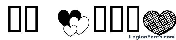 Ap justhearts font, free Ap justhearts font, preview Ap justhearts font