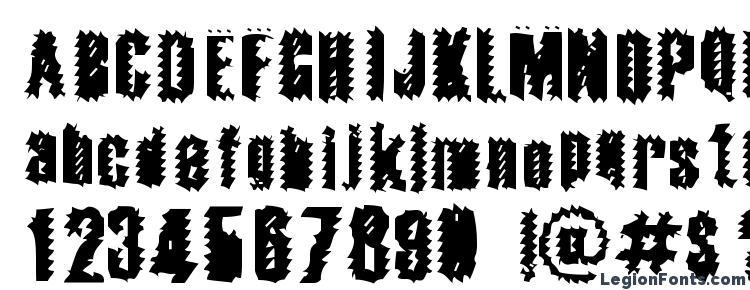 глифы шрифта Apocalypse, символы шрифта Apocalypse, символьная карта шрифта Apocalypse, предварительный просмотр шрифта Apocalypse, алфавит шрифта Apocalypse, шрифт Apocalypse