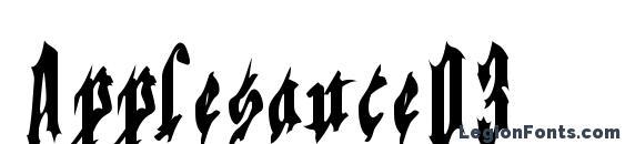 Applesauce03 Font, Halloween Fonts