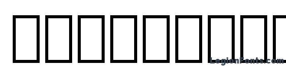 Arabic 11 BT Bold Font
