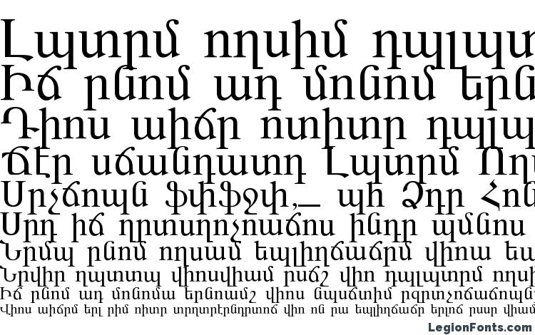 specimens ARARAT font, sample ARARAT font, an example of writing ARARAT font, review ARARAT font, preview ARARAT font, ARARAT font