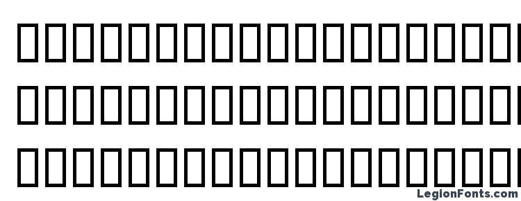 glyphs Arbat b font, сharacters Arbat b font, symbols Arbat b font, character map Arbat b font, preview Arbat b font, abc Arbat b font, Arbat b font