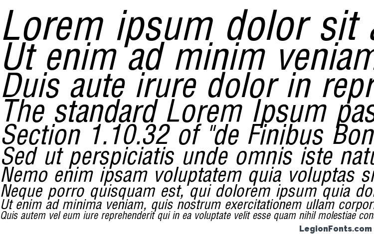 образцы шрифта Arena Condensed Italic, образец шрифта Arena Condensed Italic, пример написания шрифта Arena Condensed Italic, просмотр шрифта Arena Condensed Italic, предосмотр шрифта Arena Condensed Italic, шрифт Arena Condensed Italic