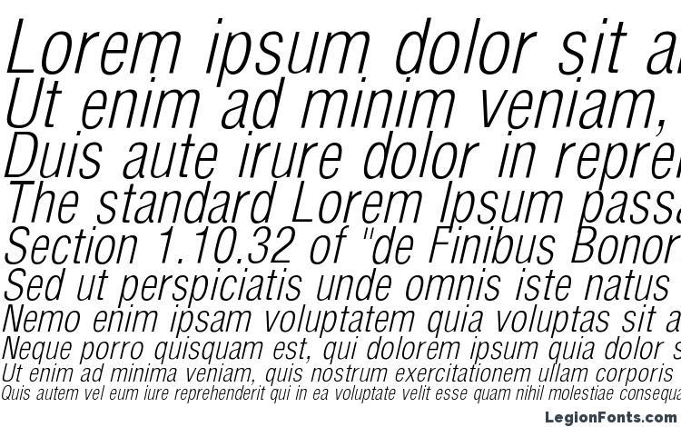 образцы шрифта ArenaCondensedLight Italic, образец шрифта ArenaCondensedLight Italic, пример написания шрифта ArenaCondensedLight Italic, просмотр шрифта ArenaCondensedLight Italic, предосмотр шрифта ArenaCondensedLight Italic, шрифт ArenaCondensedLight Italic