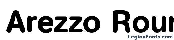 Шрифт Arezzo Rounded Demi