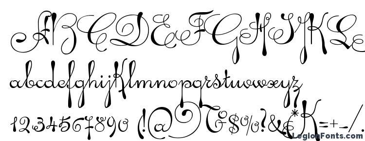 шрифт Ariadna Script скачать бесплатно Legionfonts