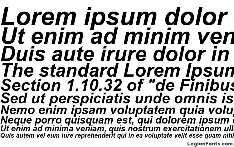 Arial Bold Italic Font Download Free / LegionFonts