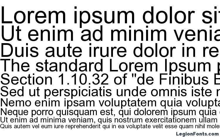 specimens Arial font, sample Arial font, an example of writing Arial font, review Arial font, preview Arial font, Arial font