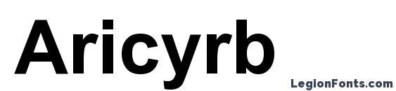 Шрифт Aricyrb
