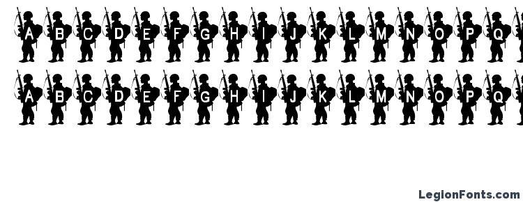 глифы шрифта Army Boy, символы шрифта Army Boy, символьная карта шрифта Army Boy, предварительный просмотр шрифта Army Boy, алфавит шрифта Army Boy, шрифт Army Boy