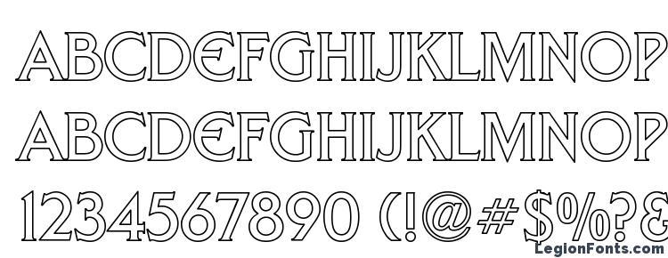 глифы шрифта Arnelle Hollow, символы шрифта Arnelle Hollow, символьная карта шрифта Arnelle Hollow, предварительный просмотр шрифта Arnelle Hollow, алфавит шрифта Arnelle Hollow, шрифт Arnelle Hollow