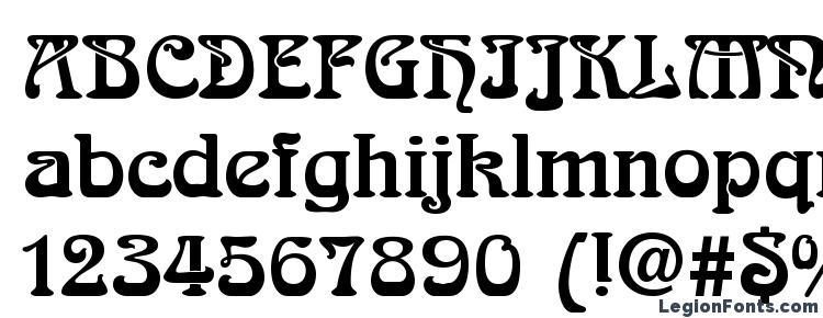 глифы шрифта Arnold Boecklin LT, символы шрифта Arnold Boecklin LT, символьная карта шрифта Arnold Boecklin LT, предварительный просмотр шрифта Arnold Boecklin LT, алфавит шрифта Arnold Boecklin LT, шрифт Arnold Boecklin LT