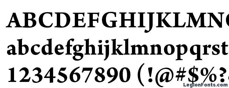 глифы шрифта ArnoPro Bold10pt, символы шрифта ArnoPro Bold10pt, символьная карта шрифта ArnoPro Bold10pt, предварительный просмотр шрифта ArnoPro Bold10pt, алфавит шрифта ArnoPro Bold10pt, шрифт ArnoPro Bold10pt