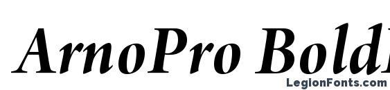 ArnoPro BoldItalic36pt font, free ArnoPro BoldItalic36pt font, preview ArnoPro BoldItalic36pt font