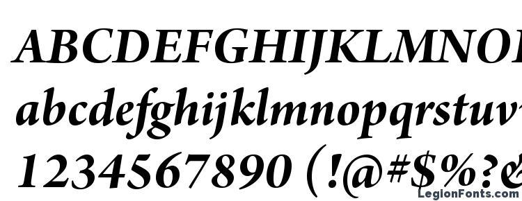 глифы шрифта ArnoPro BoldItalicSubhead, символы шрифта ArnoPro BoldItalicSubhead, символьная карта шрифта ArnoPro BoldItalicSubhead, предварительный просмотр шрифта ArnoPro BoldItalicSubhead, алфавит шрифта ArnoPro BoldItalicSubhead, шрифт ArnoPro BoldItalicSubhead
