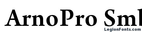 ArnoPro Smbd Font Download Free / LegionFonts