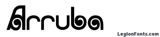 Arruba Font, African Fonts