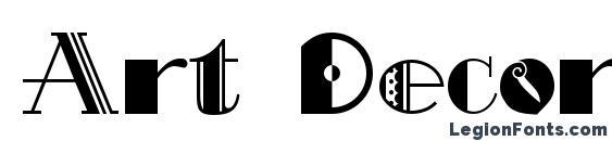 Art Decorina Font