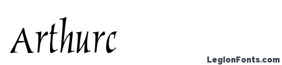 Arthurc Font, Lettering Fonts