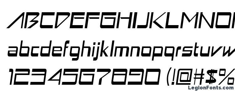 глифы шрифта Astron boy italic, символы шрифта Astron boy italic, символьная карта шрифта Astron boy italic, предварительный просмотр шрифта Astron boy italic, алфавит шрифта Astron boy italic, шрифт Astron boy italic