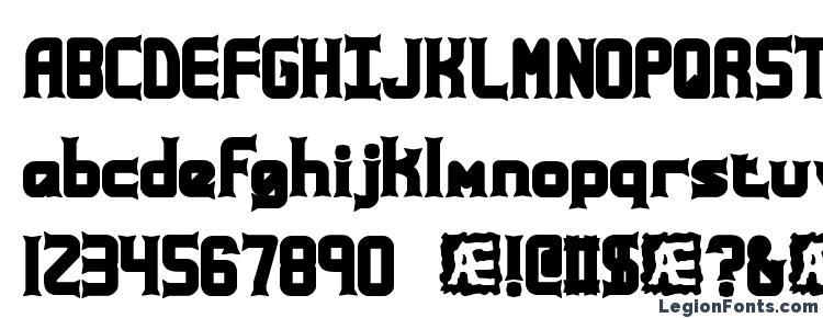 глифы шрифта Ataxia (BRK), символы шрифта Ataxia (BRK), символьная карта шрифта Ataxia (BRK), предварительный просмотр шрифта Ataxia (BRK), алфавит шрифта Ataxia (BRK), шрифт Ataxia (BRK)