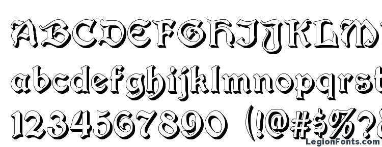 glyphs Augusta Shadow font, сharacters Augusta Shadow font, symbols Augusta Shadow font, character map Augusta Shadow font, preview Augusta Shadow font, abc Augusta Shadow font, Augusta Shadow font
