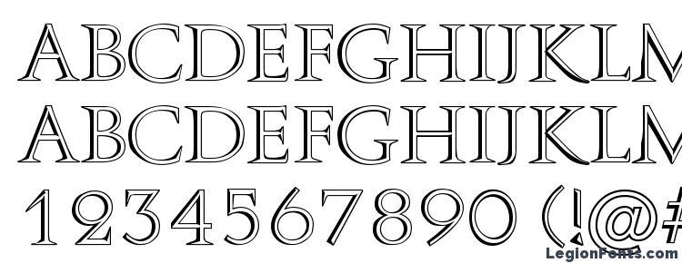 глифы шрифта Aurelius Regular, символы шрифта Aurelius Regular, символьная карта шрифта Aurelius Regular, предварительный просмотр шрифта Aurelius Regular, алфавит шрифта Aurelius Regular, шрифт Aurelius Regular