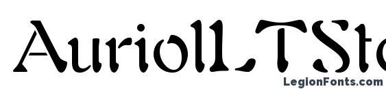 AuriolLTStd Font