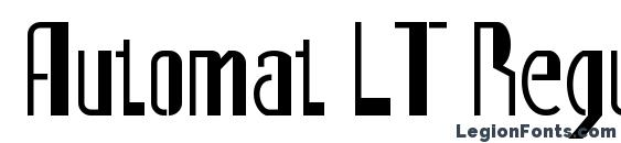 Automat LT Regular Alternate Font