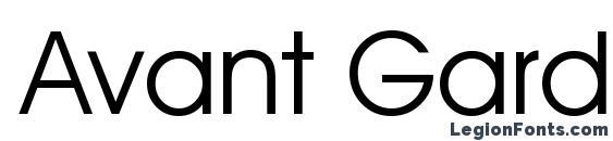 Avant Garde Normal Font