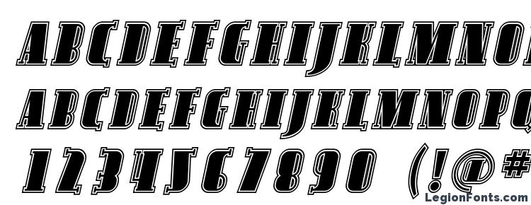 glyphs Avondale SC Inline Italic font, сharacters Avondale SC Inline Italic font, symbols Avondale SC Inline Italic font, character map Avondale SC Inline Italic font, preview Avondale SC Inline Italic font, abc Avondale SC Inline Italic font, Avondale SC Inline Italic font