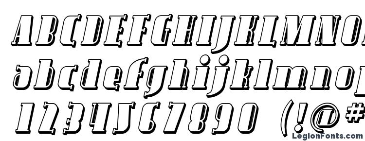 glyphs Avondale Shaded Italic font, сharacters Avondale Shaded Italic font, symbols Avondale Shaded Italic font, character map Avondale Shaded Italic font, preview Avondale Shaded Italic font, abc Avondale Shaded Italic font, Avondale Shaded Italic font