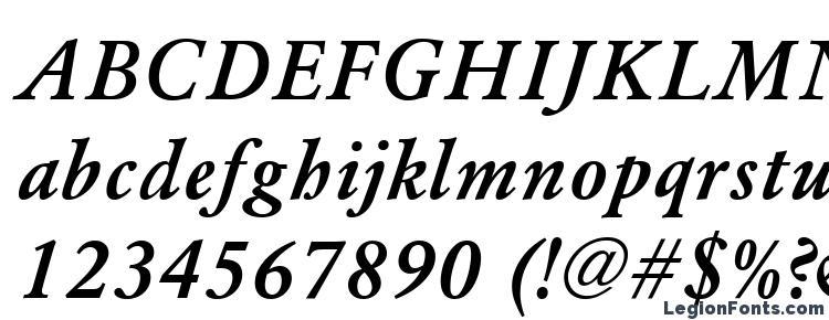 глифы шрифта AZGaramondCTT BoldItalic, символы шрифта AZGaramondCTT BoldItalic, символьная карта шрифта AZGaramondCTT BoldItalic, предварительный просмотр шрифта AZGaramondCTT BoldItalic, алфавит шрифта AZGaramondCTT BoldItalic, шрифт AZGaramondCTT BoldItalic