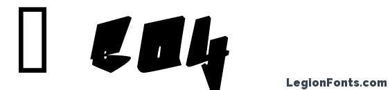 B boy Font