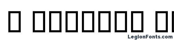 Шрифт B Esfehan Bold