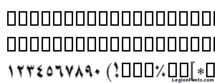 глифы шрифта B Niki Border, символы шрифта B Niki Border, символьная карта шрифта B Niki Border, предварительный просмотр шрифта B Niki Border, алфавит шрифта B Niki Border, шрифт B Niki Border