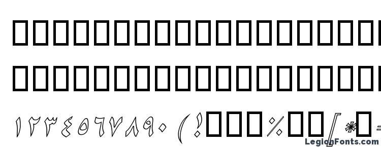 glyphs B Niki Outline Italic font, сharacters B Niki Outline Italic font, symbols B Niki Outline Italic font, character map B Niki Outline Italic font, preview B Niki Outline Italic font, abc B Niki Outline Italic font, B Niki Outline Italic font