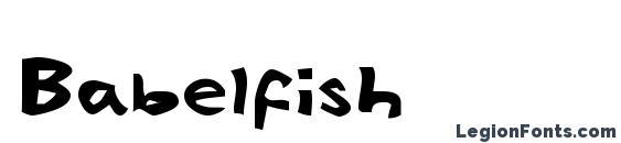 Babelfish Font