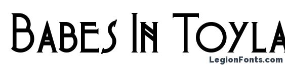Babes In Toyland NF font, free Babes In Toyland NF font, preview Babes In Toyland NF font
