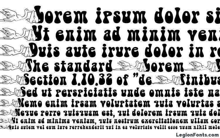 specimens Babystork becker font, sample Babystork becker font, an example of writing Babystork becker font, review Babystork becker font, preview Babystork becker font, Babystork becker font