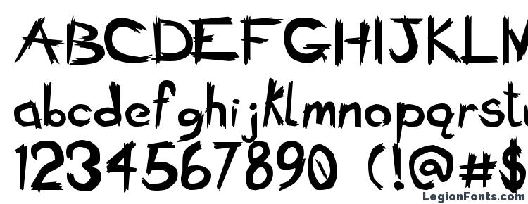 glyphs Bad Seed Bold font, сharacters Bad Seed Bold font, symbols Bad Seed Bold font, character map Bad Seed Bold font, preview Bad Seed Bold font, abc Bad Seed Bold font, Bad Seed Bold font