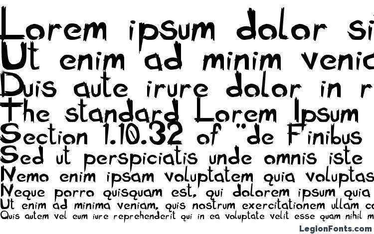 specimens Bad Seed Bold font, sample Bad Seed Bold font, an example of writing Bad Seed Bold font, review Bad Seed Bold font, preview Bad Seed Bold font, Bad Seed Bold font