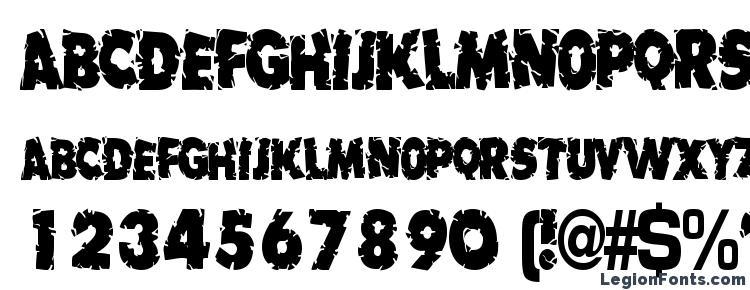 glyphs Badlychipped66 regular ttcon font, сharacters Badlychipped66 regular ttcon font, symbols Badlychipped66 regular ttcon font, character map Badlychipped66 regular ttcon font, preview Badlychipped66 regular ttcon font, abc Badlychipped66 regular ttcon font, Badlychipped66 regular ttcon font