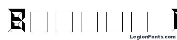 Baguet Display Caps SSi Font