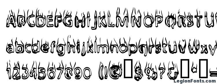 glyphs BaileysCar font, сharacters BaileysCar font, symbols BaileysCar font, character map BaileysCar font, preview BaileysCar font, abc BaileysCar font, BaileysCar font