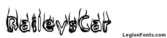 Шрифт BaileysCar