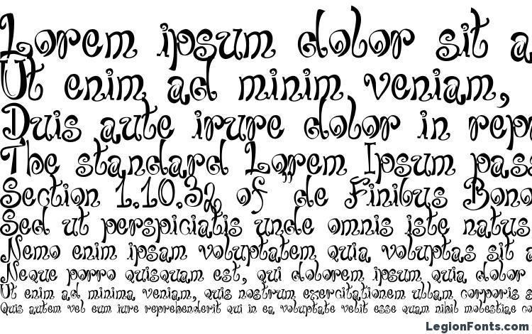 образцы шрифта Bajareczka, образец шрифта Bajareczka, пример написания шрифта Bajareczka, просмотр шрифта Bajareczka, предосмотр шрифта Bajareczka, шрифт Bajareczka