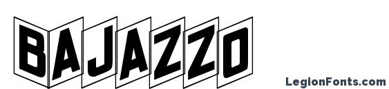 Шрифт Bajazzo