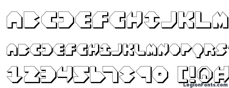 glyphs Bal Astaral 3D font, сharacters Bal Astaral 3D font, symbols Bal Astaral 3D font, character map Bal Astaral 3D font, preview Bal Astaral 3D font, abc Bal Astaral 3D font, Bal Astaral 3D font