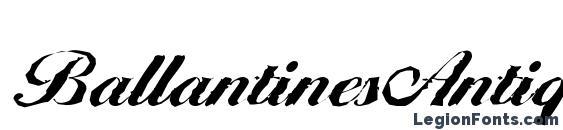 Шрифт BallantinesAntique Xbold Regular